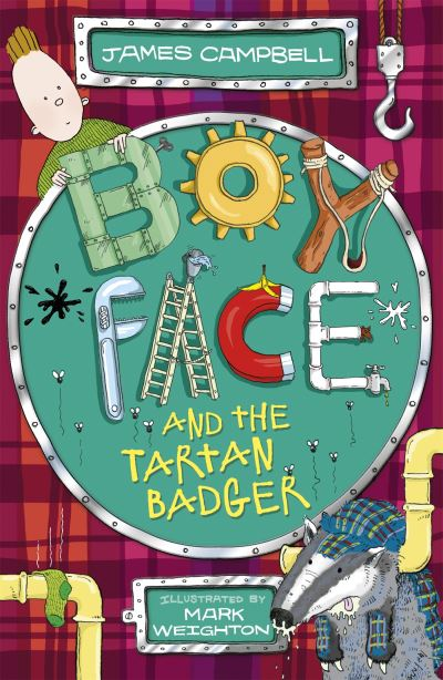 Boyface and the tartan badger