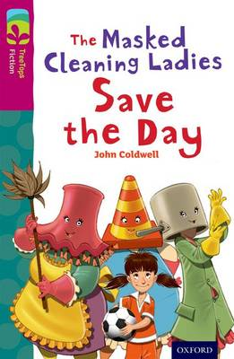 The masked cleaning ladies save the day