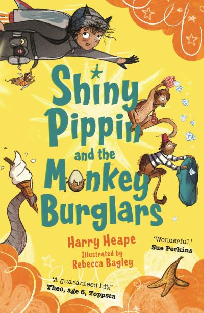Shiny Pippin and the monkey burglars