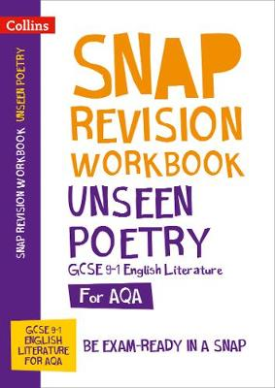 AQA GCSE 9-1 English Literature unseen poetry