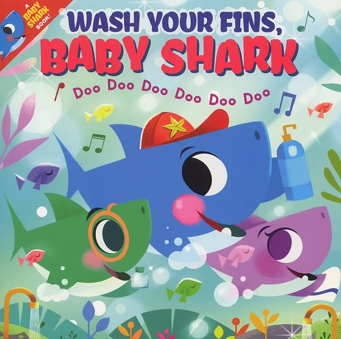 Wash your fins, Baby Shark!