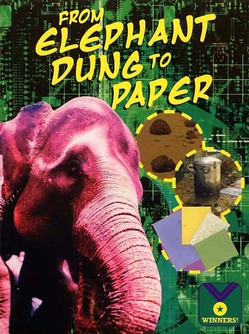 From elephant dung to paper