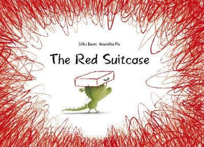 The red suitcase