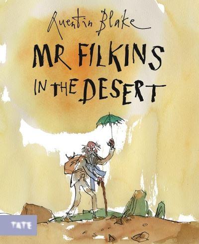 Mr. Filkins in the desert