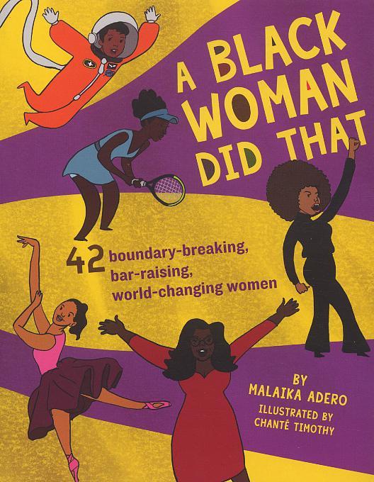 A black woman did that!
