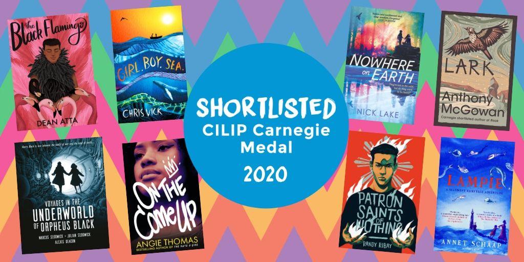 Carnegie Medal shortlist 2020