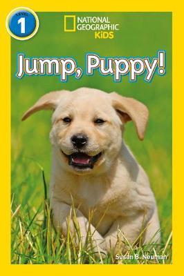 Jump, puppy!