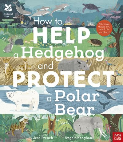 How to help a hedgehog and protect a polar bear