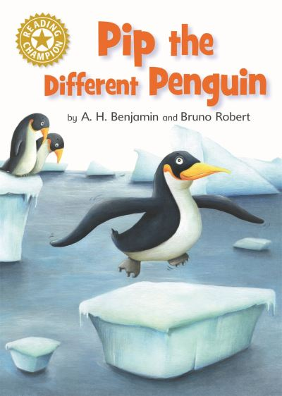 Pip the different penguin