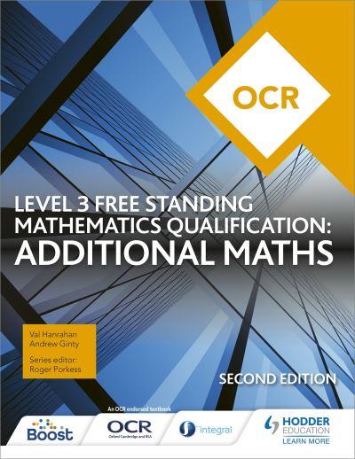 OCR Level 3 Free Standing Mathematics Qualification