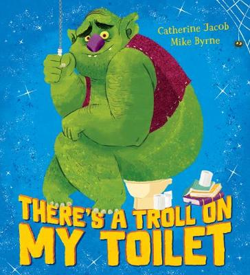 There's a troll on my toilet