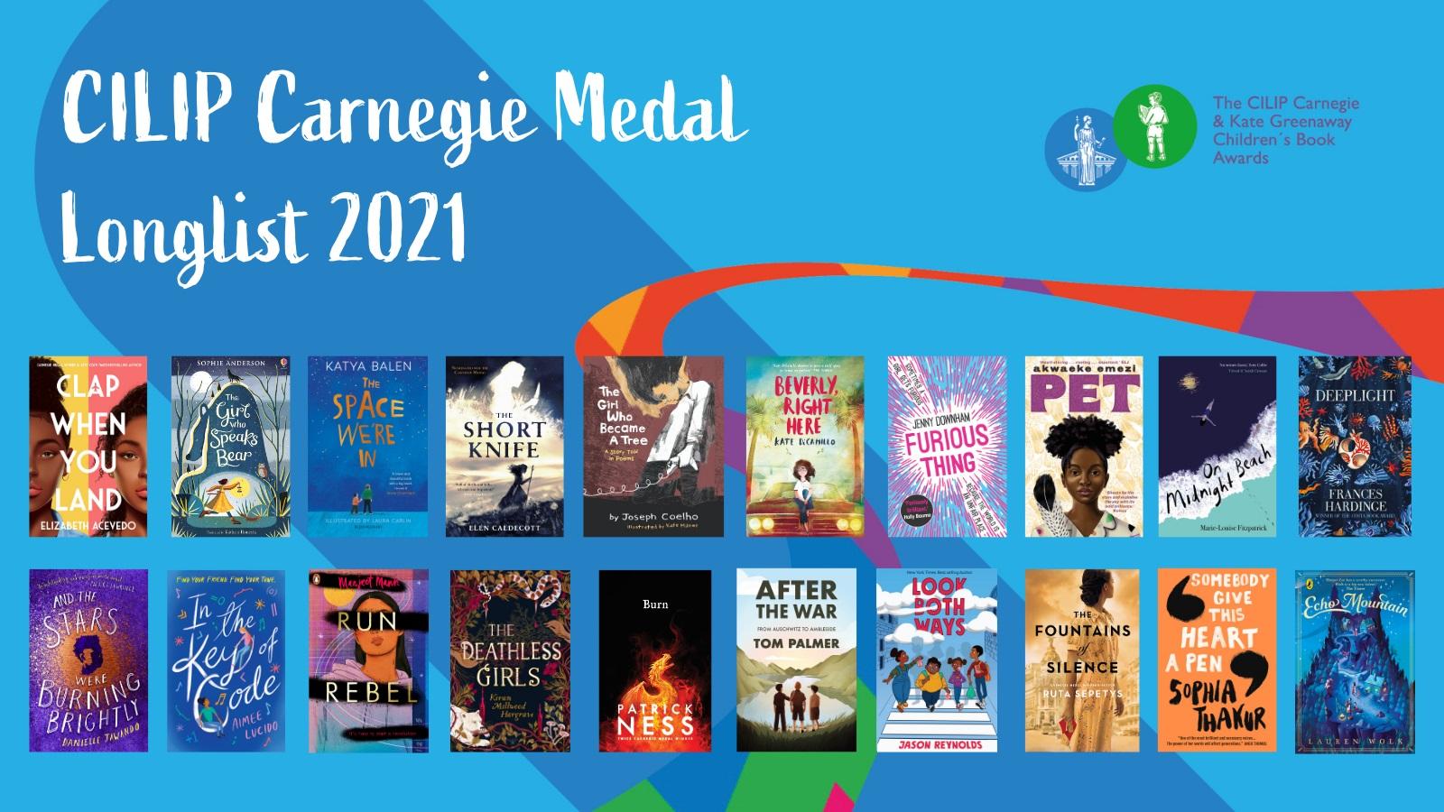 Carnegie Medal longlist 2021