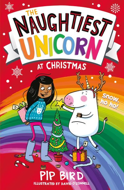 The naughtiest unicorn at Christmas