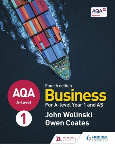 AQA A-level Business for A-level Year 1 and AS