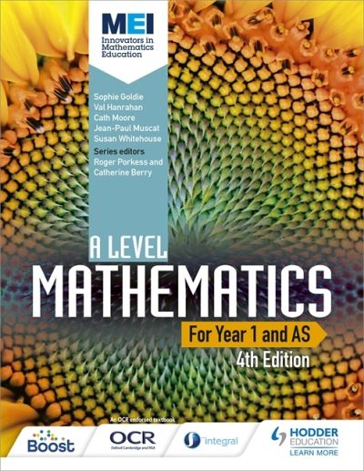 MEI A Level Mathematics for Year 1 and AS